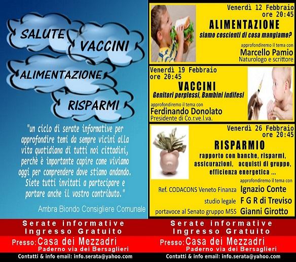 vaccini alimentazione risparmio a ponzano