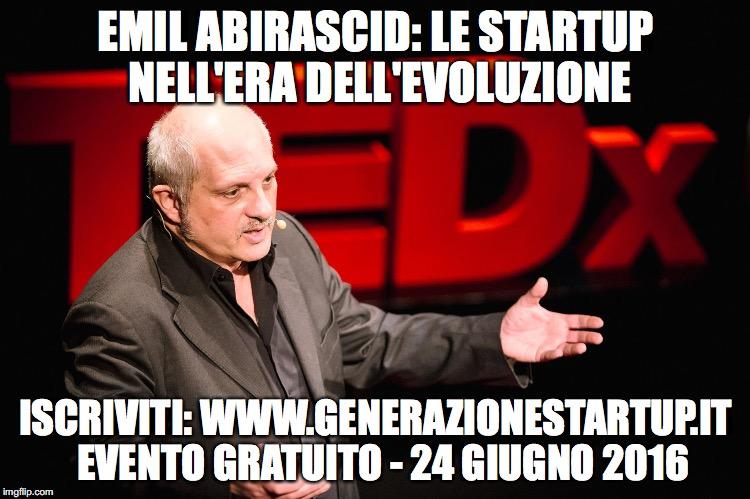 generazione start up emil abirascid