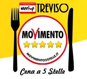 cena meetup movimento 5 stelle