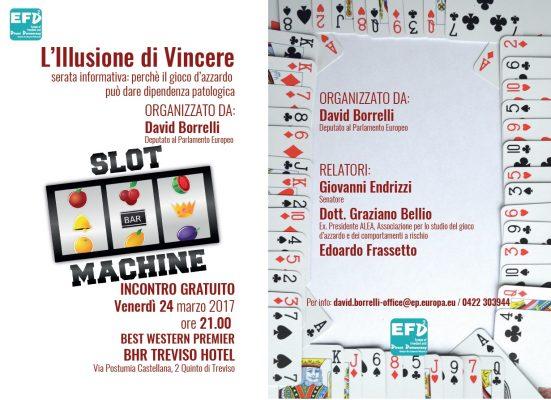 gioco d'azzardo l'illusione di vincere - venerdì 24 marzo 2017