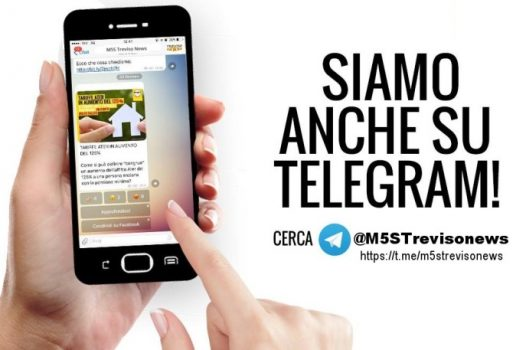 canale telegram m5streviso news