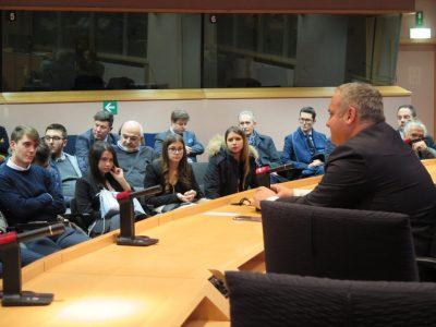 Incontro con gli studenti Istituto Riccati Luzzatti di Treviso movimento5stelletreviso.it