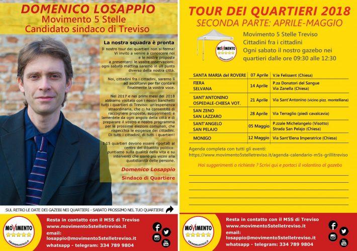 Movimento 5 Stelle elezioni comunali Treviso 2018