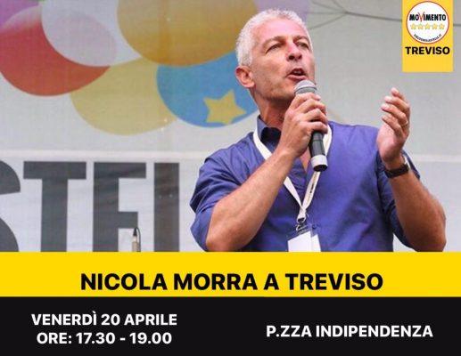 NICOLA MORRA 20 APRILE 2018 TREVISO