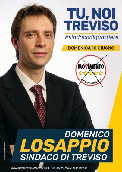 manifesto elettorale domenico losappio treviso 2018