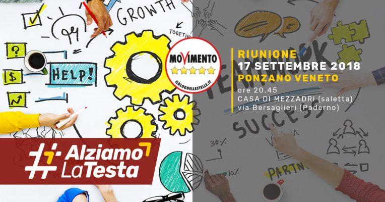 Ponzano Veneto Riunione Movimento 5 Stelle 17 Sett 2018