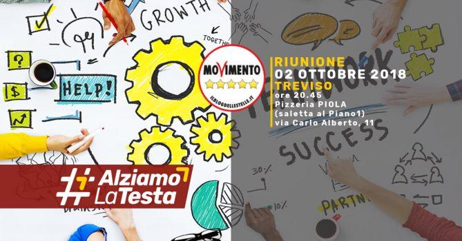 Treviso Riunione Movimento 5 Stelle 02 Ottobre 2018