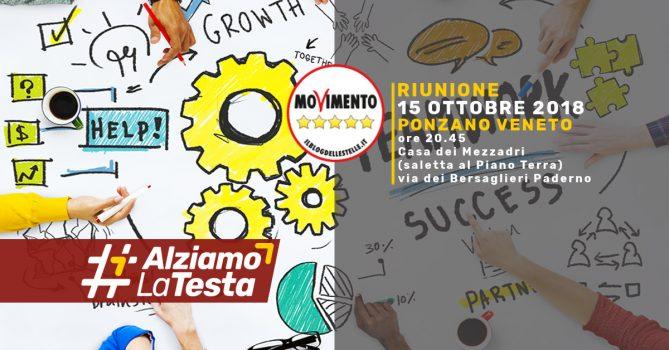 Ponzano Veneto Riunione Movimento 5 Stelle 15 Ottobre 2018