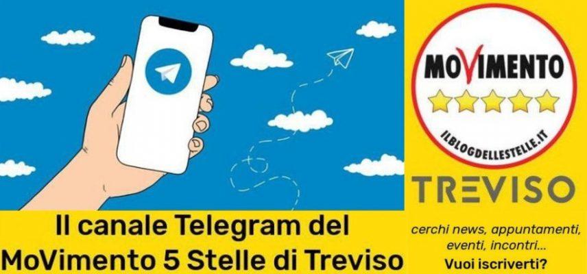 #Telegram M5S Treviso