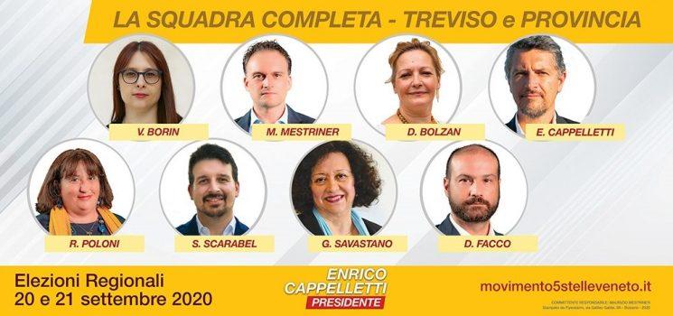 Elezioni Veneto 2020 - Treviso 5 Stelle